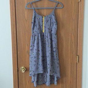 Xhilaration Hi-Low Bird Dress